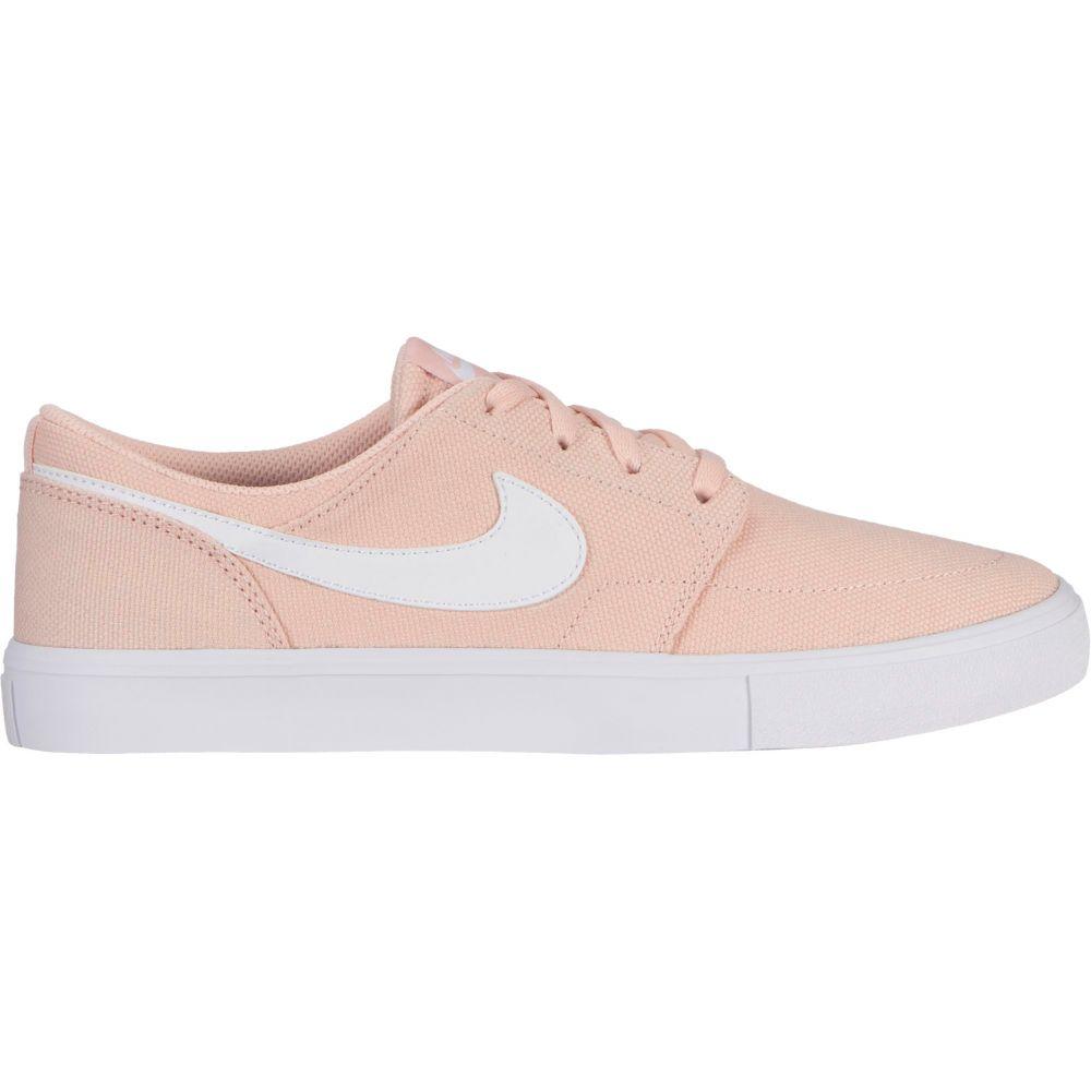 ナイキ Nike レディース スケートボード シューズ・靴【SB Portmore II Solarsoft Skate Shoes】Washed Coral/White