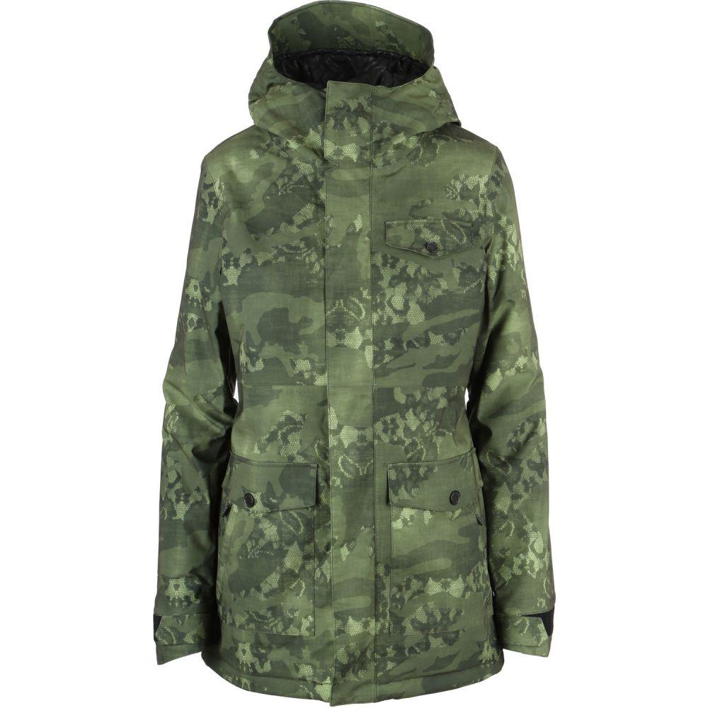 ボルコム Volcom レディース スキー・スノーボード アウター【Bow Insulated Gore-Tex Snowboard Jacket】Camouflage
