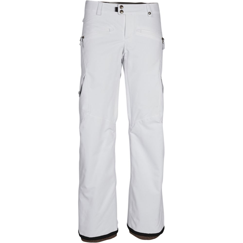 シックス エイト シックス 686 レディース スキー・スノーボード ボトムス・パンツ【Mistress Insulated Cargo Snowboard Pants】White