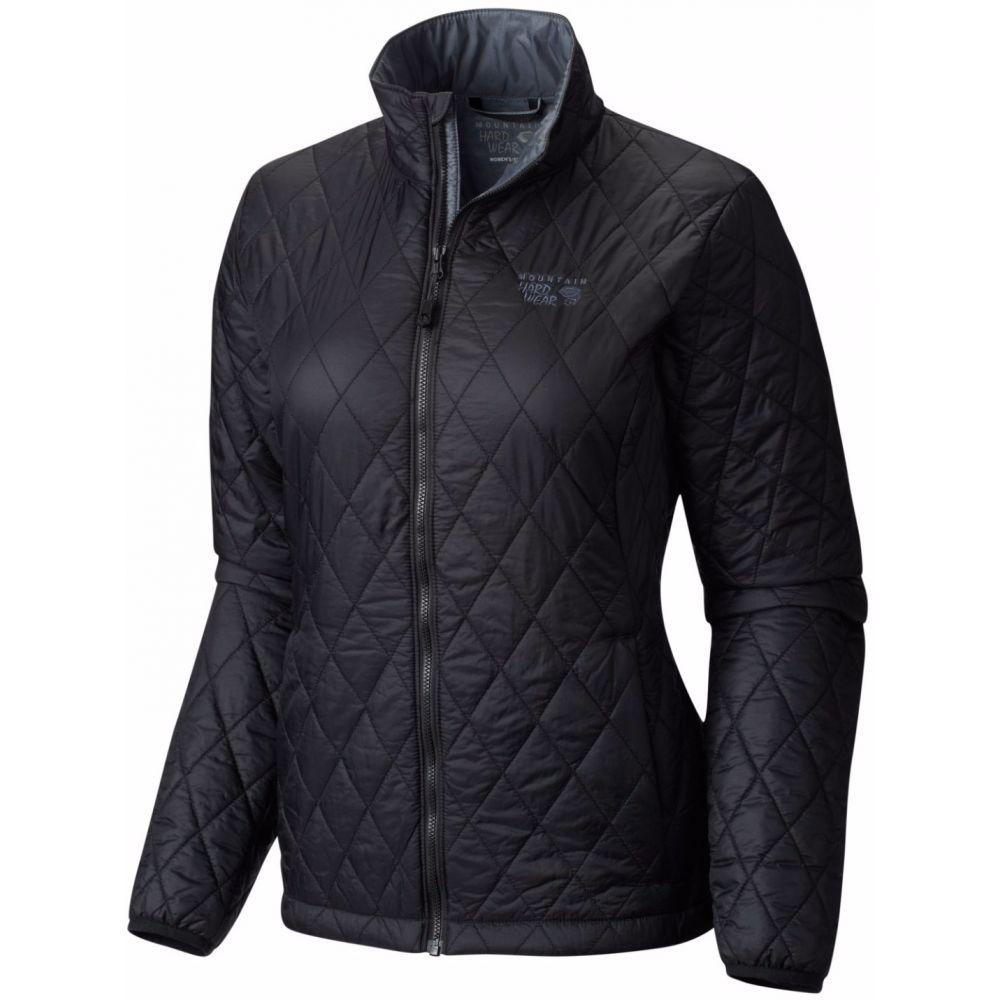 マウンテンハードウェア Mountain Hardwear レディース アウター ジャケット【Thermostatic Jacket】Black/Graphite