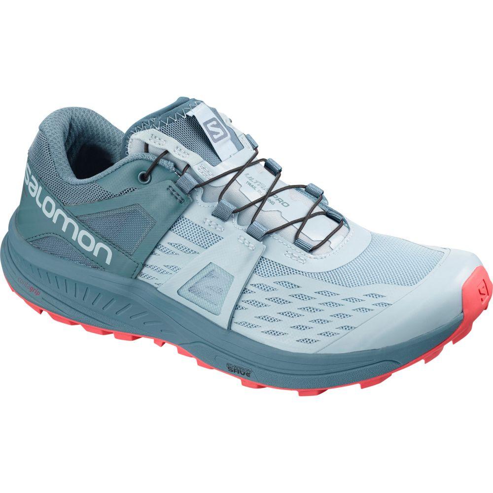 サロモン Salomon レディース ランニング・ウォーキング シューズ・靴【Ultra Pro Trail Running Shoes】Cashmere Blue/Bluestone/Dubarry