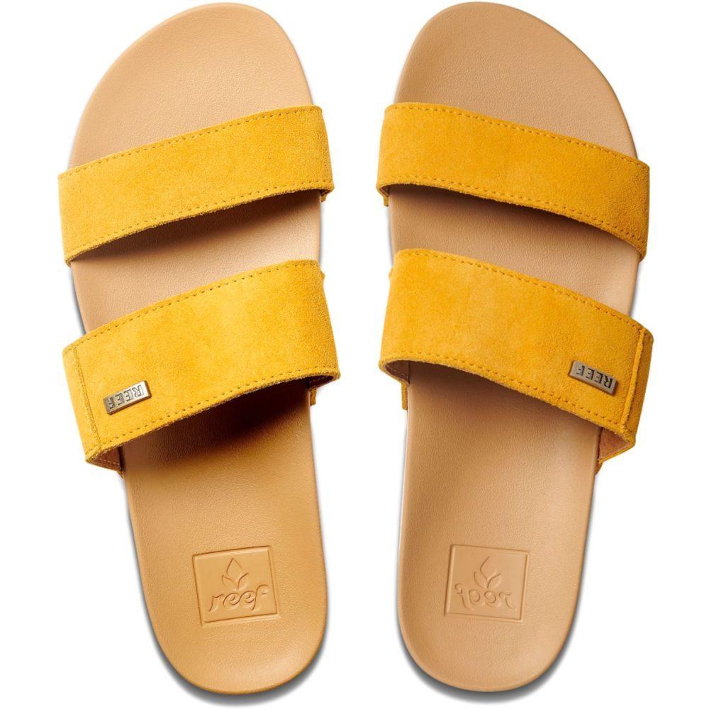 リーフ Reef レディース シューズ・靴 サンダル・ミュール【Cushion Bounce Vista Suede Sandals】Mustard