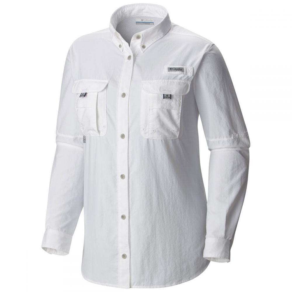 コロンビア Columbia レディース トップス【PFG Bahama L/S Shirt】White