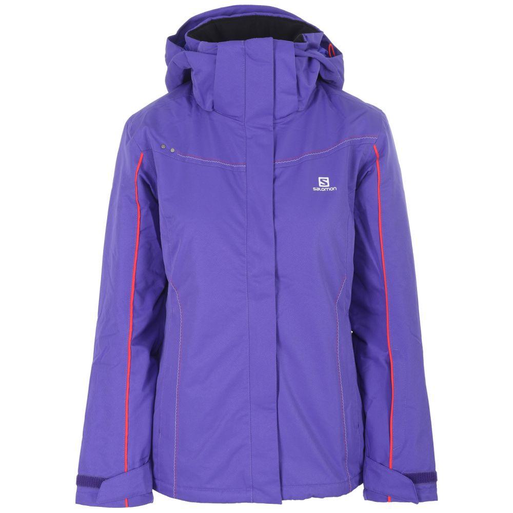 サロモン Salomon レディース スキー・スノーボード アウター【Stormseeker Ski Jacket】Phlox Violet