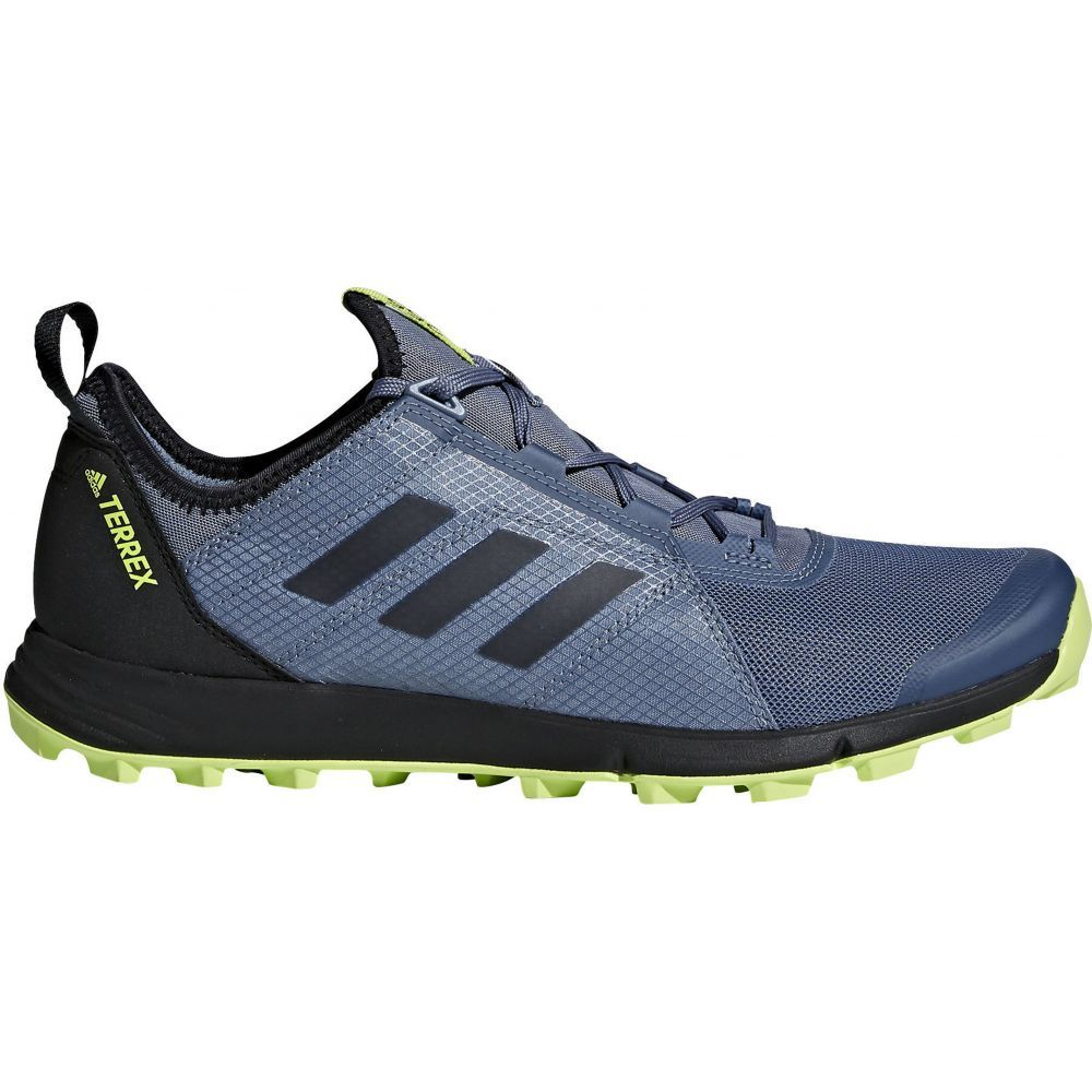 アディダス Adidas メンズ ハイキング・登山 シューズ・靴【Terrex Agravic Speed Hiking Shoes】Raw Steel/Black/Solar Slime