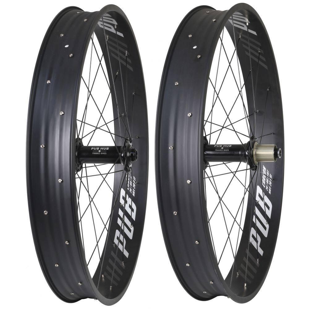 ピューブ Pub メンズ 自転車【Carbon Pro-X 150mm/190mm XD Wheel Set】Black