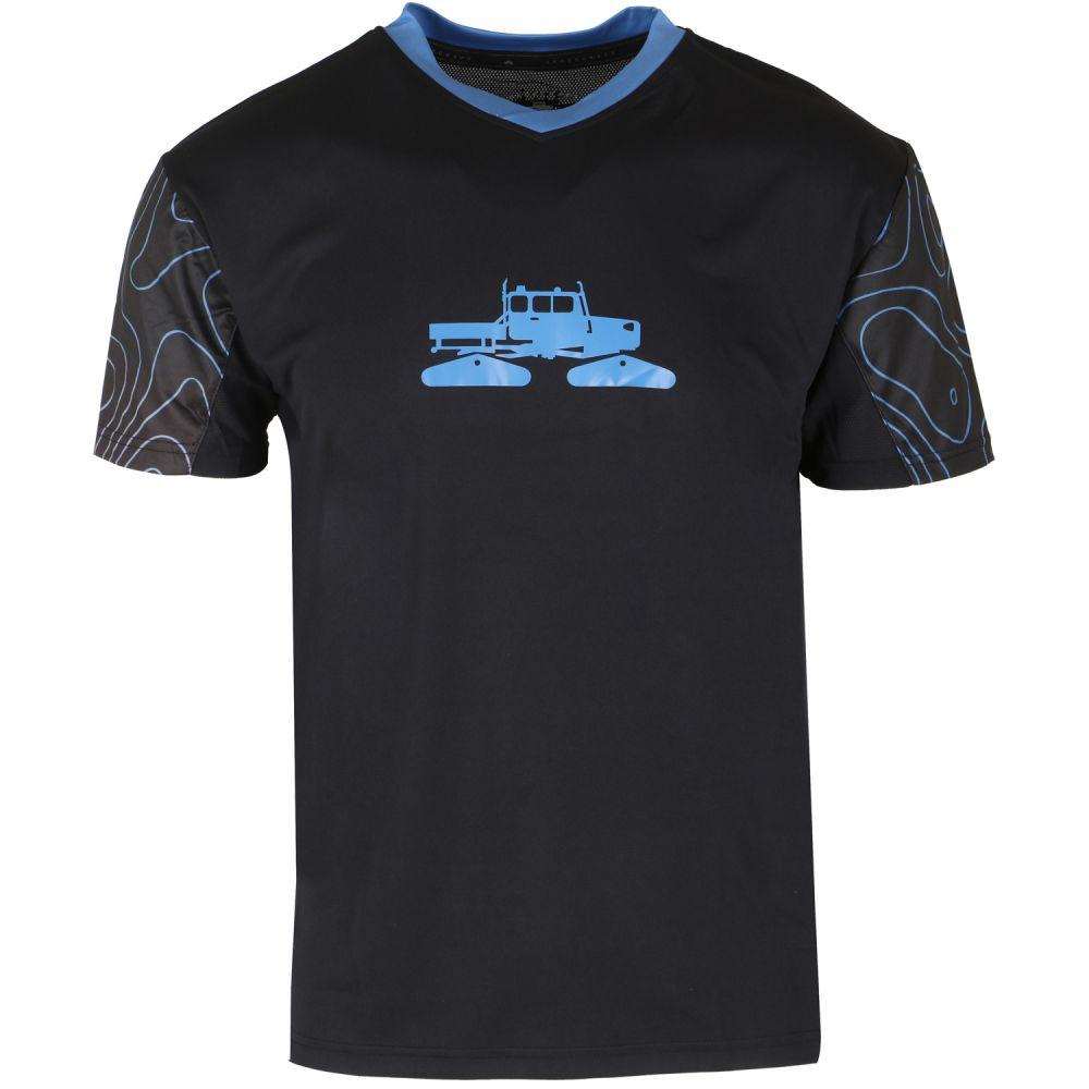 スペースクラフト Spacecraft メンズ 自転車 トップス【Rock Crusher Bike Jersey】Black/Cyan