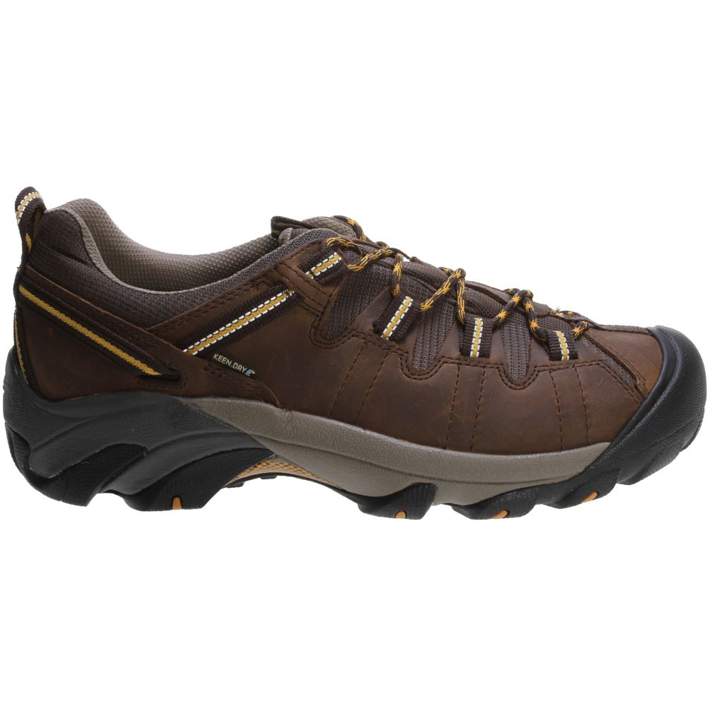 キーン Keen メンズ ハイキング・登山 シューズ・靴【Targhee II WP Hiking Shoes】Cascade Brown/Golden Yellow