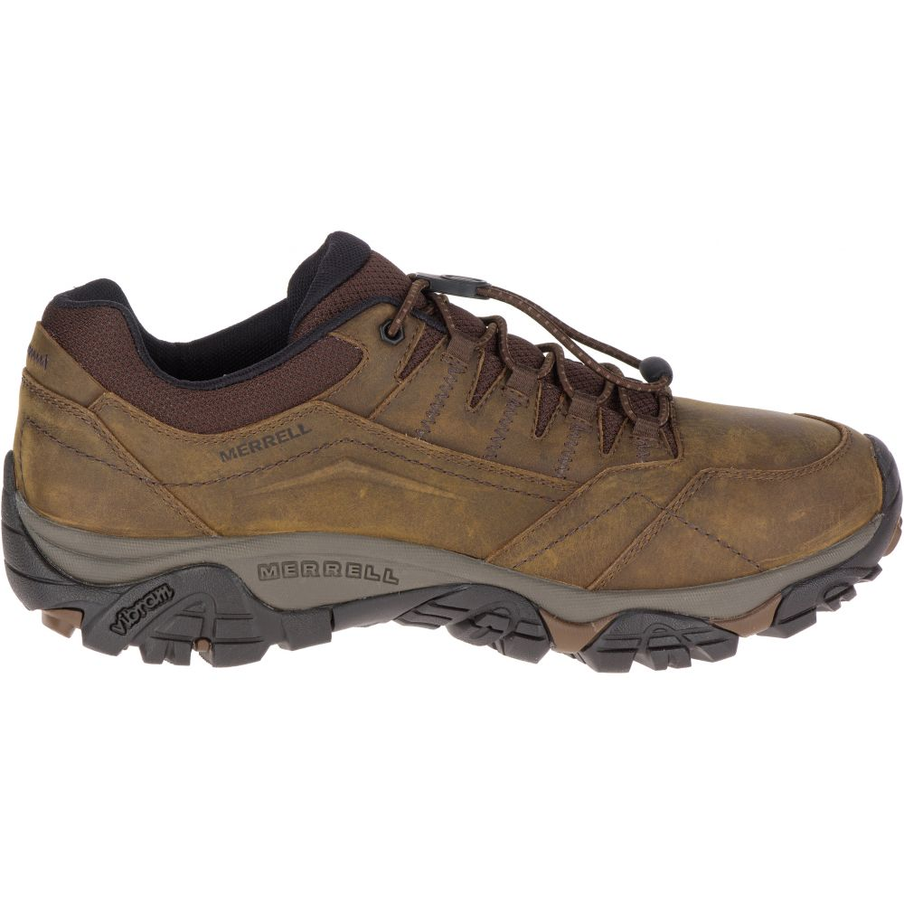 メレル Merrell メンズ ハイキング・登山 シューズ・靴【Moab Adventure Stretch Wide Hiking Shoes】Dark Earth