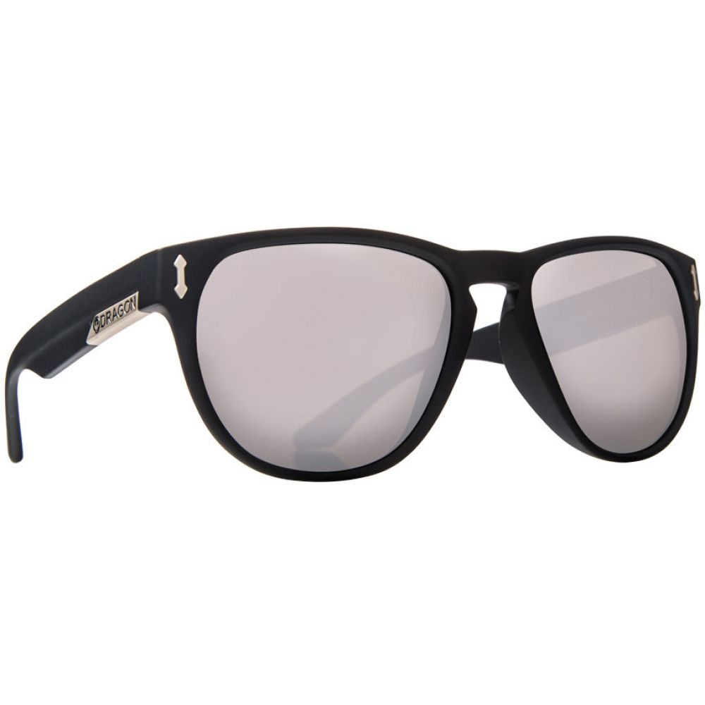 ドラゴン Dragon メンズ メガネ・サングラス【Marquis Sunglasses】Matte Black/Silver Ionized Lens