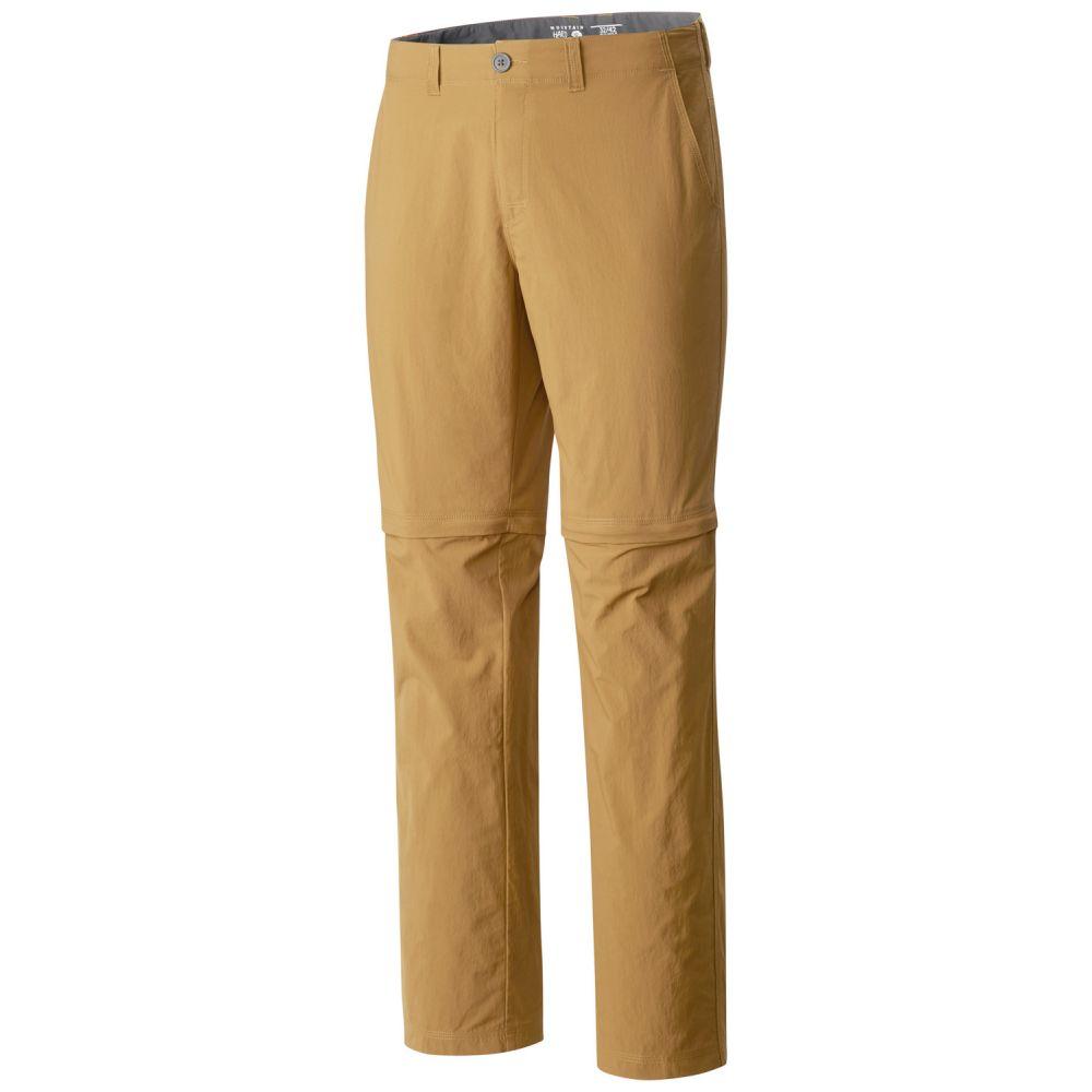 マウンテンハードウェア Mountain Hardwear メンズ ハイキング・登山 ボトムス・パンツ【Castil Convertible Hiking Pants】Sandstorm