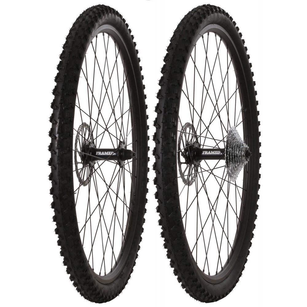 <title>フレームド メンズ 自転車 その他自転車用品 サイズ交換無料 Framed Fattie Slims Trail F135 R170 9 Speed Wheel Set 購買</title>
