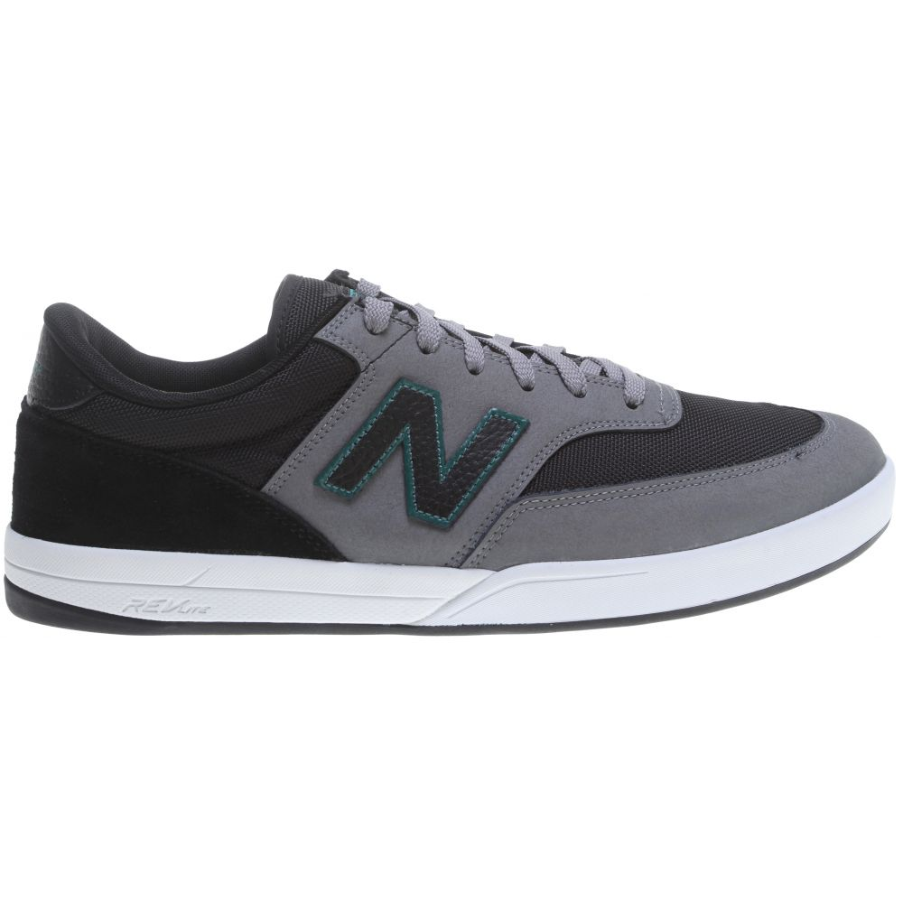 ニューバランス New Balance メンズ スケートボード シューズ・靴【Numeric Allston 617 Skate Shoes】Gunmetal/Black