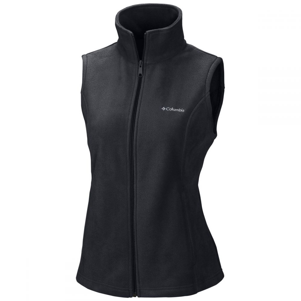 コロンビア Columbia レディース スキー・スノーボード トップス【Benton Springs Fleece Vest】Black