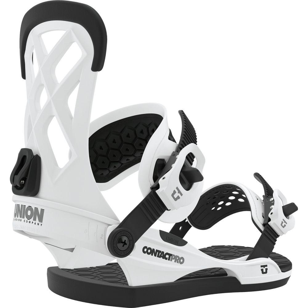 ユニオン Union メンズ スキー・スノーボード ビンディング【Contact Pro Snowboard Bindings】White