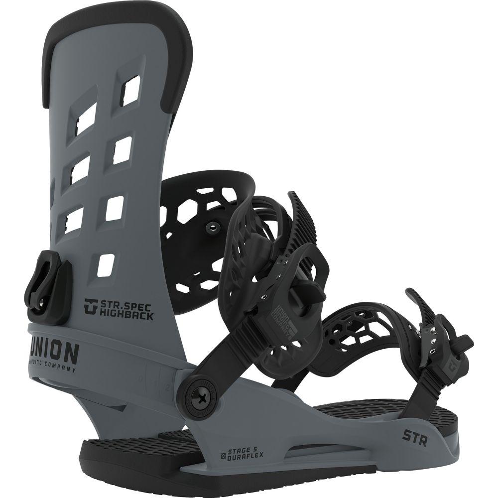 ユニオン Union メンズ スキー・スノーボード ビンディング【STR Snowboard Bindings】Dark Grey