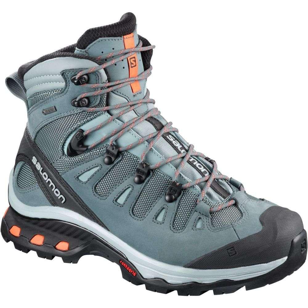サロモン Salomon レディース ハイキング・登山 シューズ・靴【Quest 4D 3 GTX Hiking Boots】Lead/Stormy Weather/Bird Of Paradise