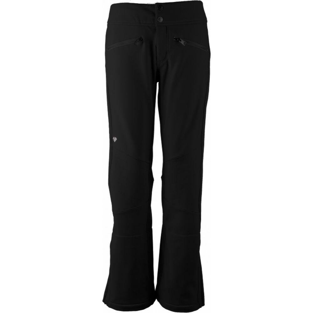 オバマイヤー Obermeyer レディース スキー・スノーボード ボトムス・パンツ【Clio Softshell Ski Pants】Black