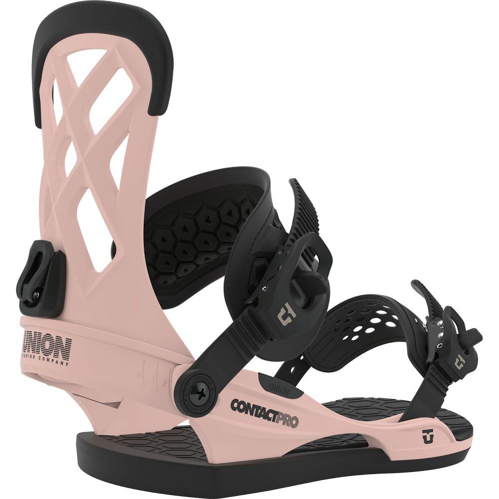 ユニオン Union メンズ スキー・スノーボード ビンディング【Contact Pro Snowboard Bindings】Pink
