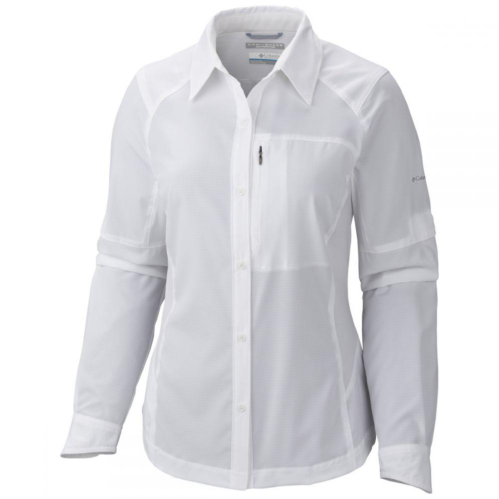 コロンビア Columbia レディース トップス【Silver Ridge L/S Shirt】White