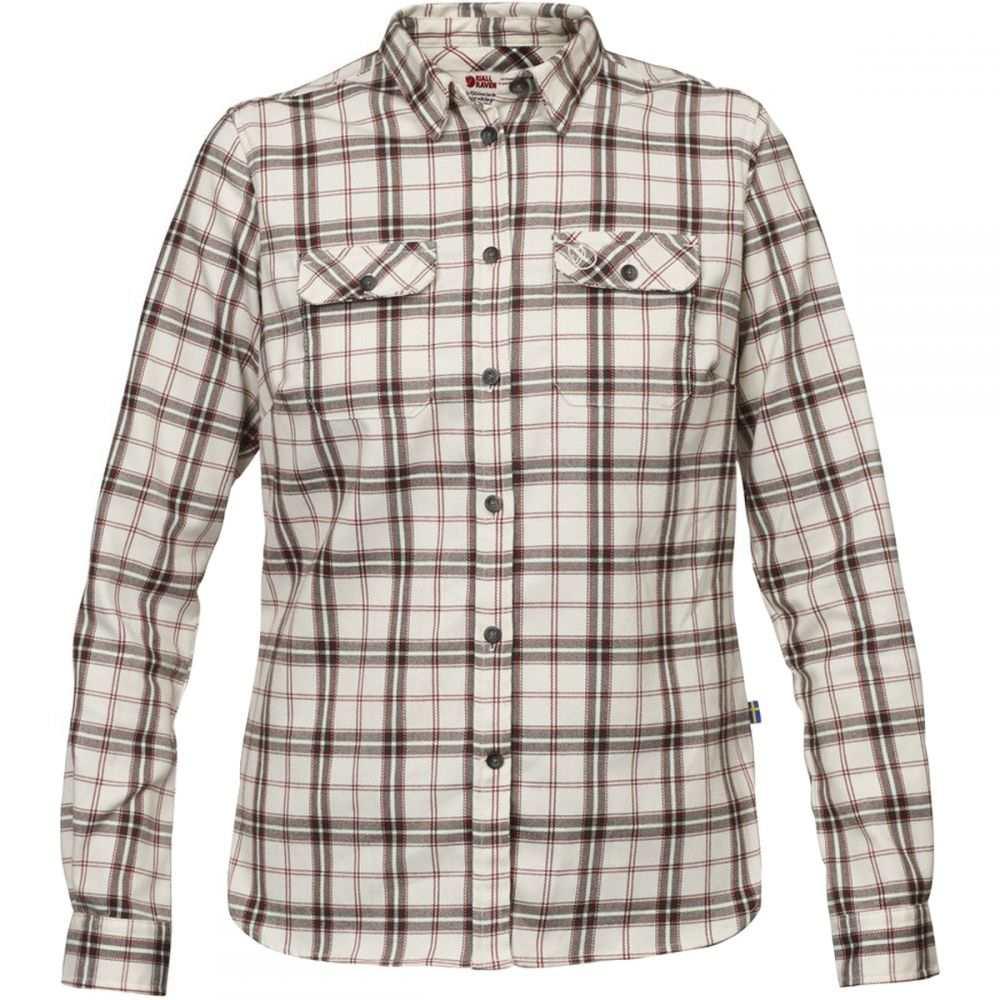 フェールラーベン Fjallraven レディース トップス ブラウス・シャツ【Fjallglim Stretch L/S Shirt】Chalk White