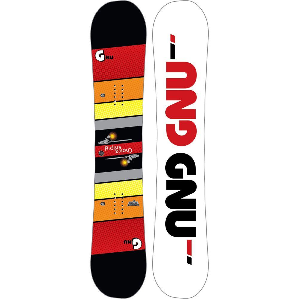 グヌ GNU メンズ スキー・スノーボード ボード・板【Riders Choice Asym Wide Snowboard】