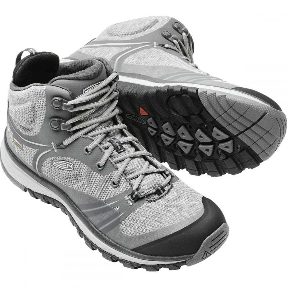 キーン Keen レディース ハイキング・登山 シューズ・靴【Terradora Mid WP Hiking Boots】Gargoyle/Magnet