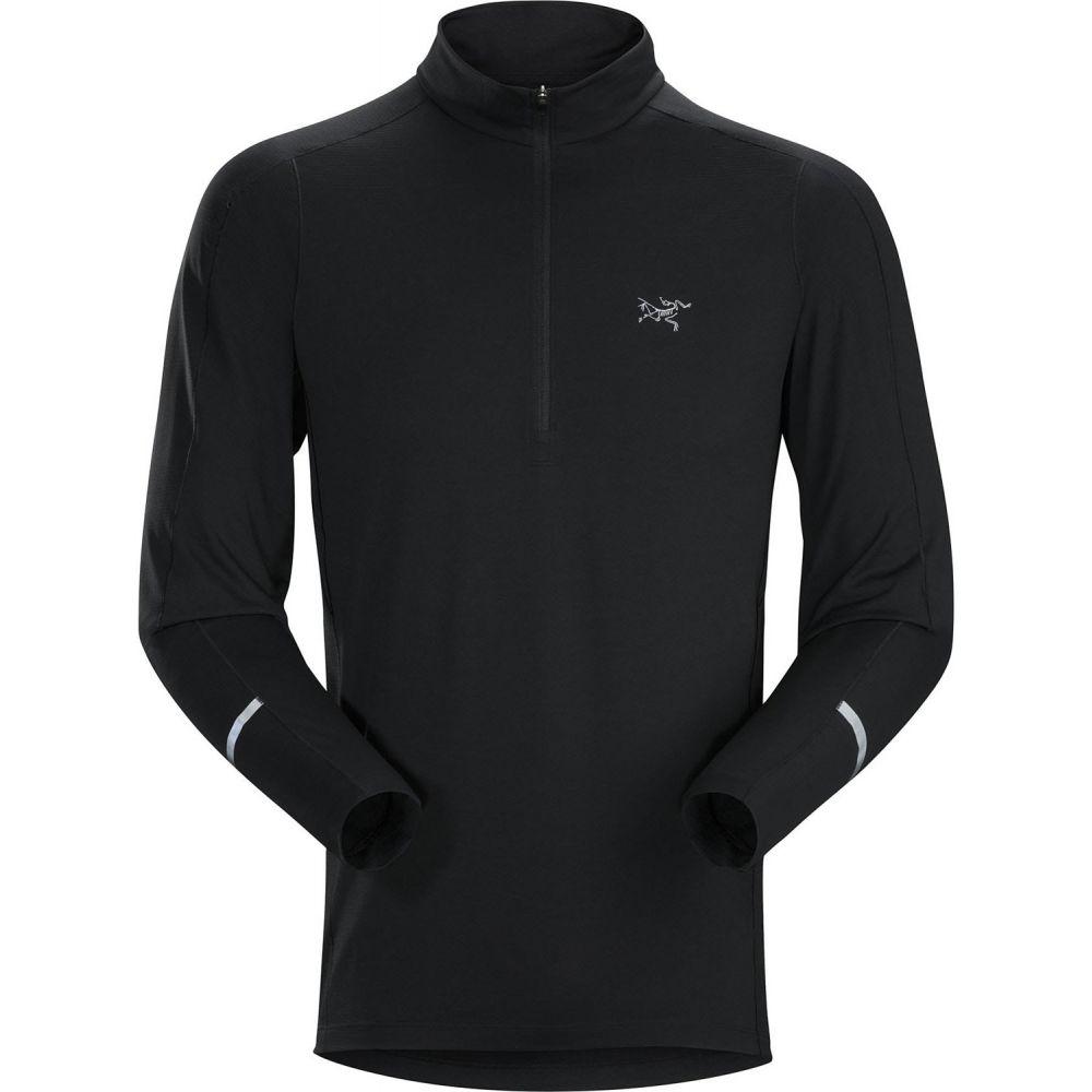 アークテリクス Arc'teryx メンズ トップス 【Cormac Zip-Neck L/S Shirt】Black