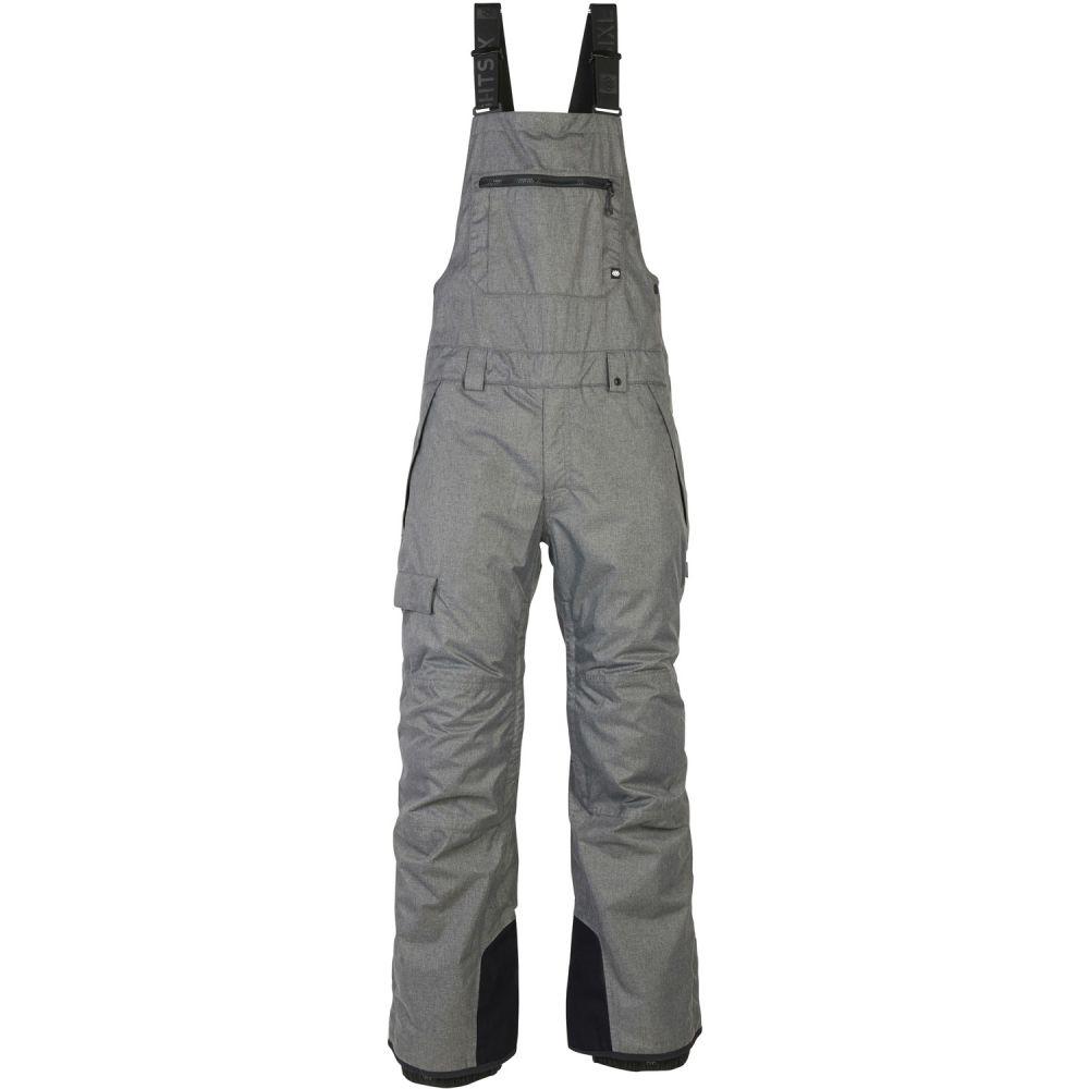 シックス エイト シックス 686 メンズ スキー・スノーボード ビブパンツ ボトムス・パンツ【Hot Lap Insulated Bib Snowboard Pants 2020】Grey Melange