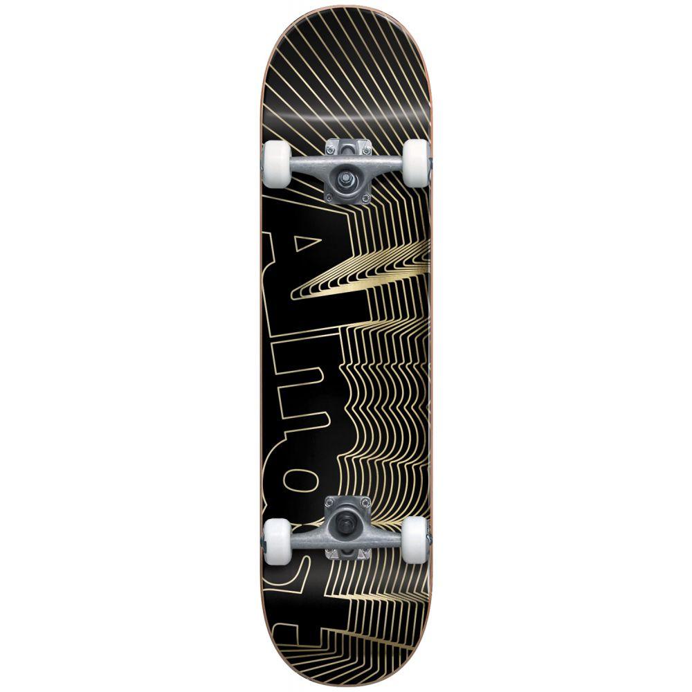 オルモスト Almost メンズ スケートボード ボード・板【Unkown Pleasures Skateboard Complete】Black/Gold