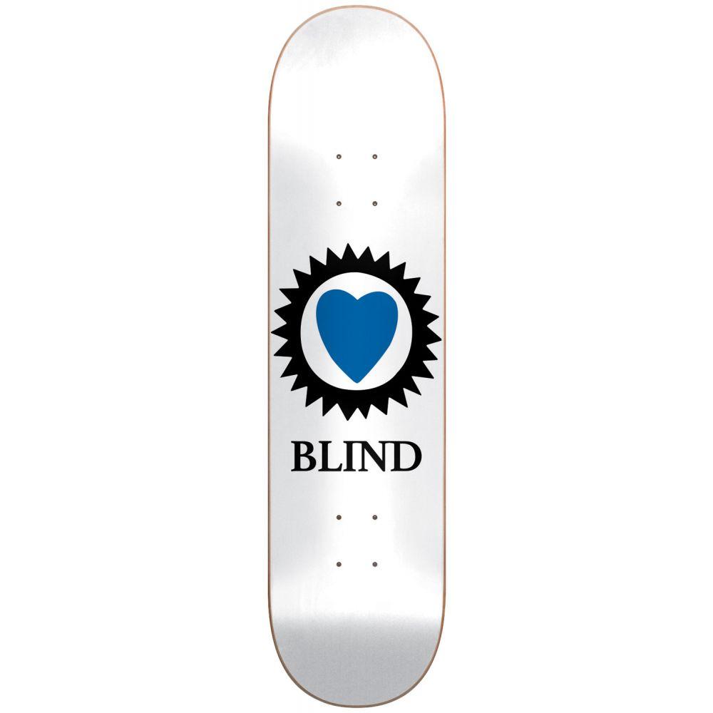 ブラインド Blind メンズ スケートボード ボード・板【Heart Skateboard Deck】White
