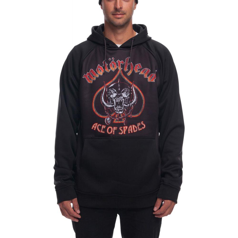 シックス エイト シックス 686 メンズ スキー・スノーボード パーカー トップス【Motorhead Bonded Pullover DWR Hoodie】Black