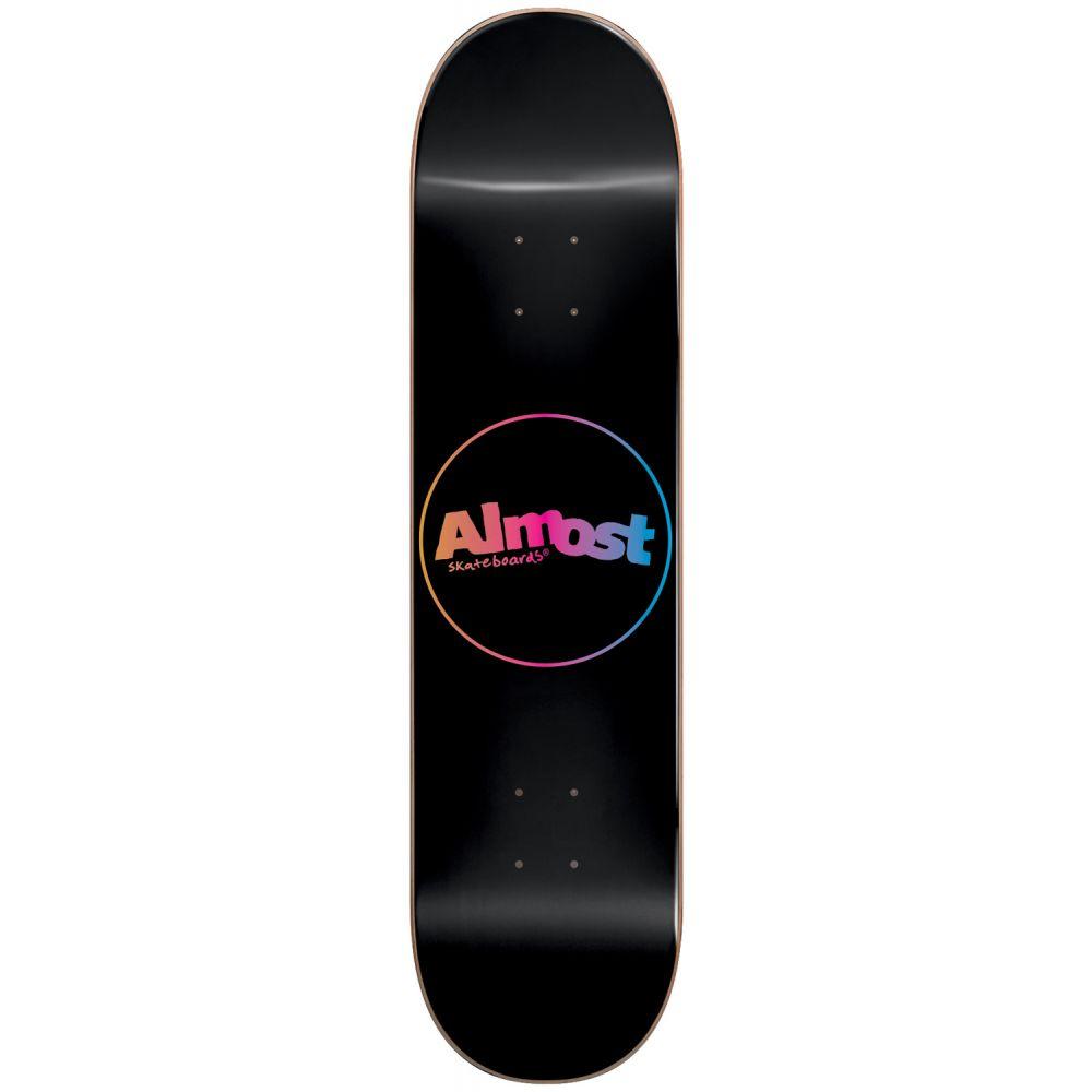 オルモスト Almost メンズ スケートボード ボード・板【Center Piece Skateboard Deck】Black