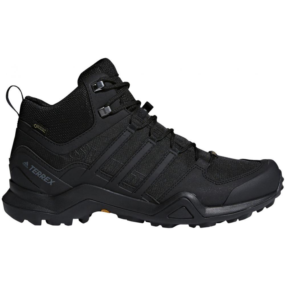 アディダス Adidas メンズ ハイキング・登山 ブーツ シューズ・靴【Terrex Swift R2 Mid GTX Hiking Boots】Black/Black/Black