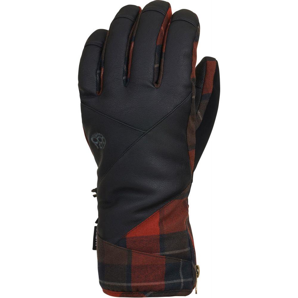 シックス エイト シックス 686 メンズ スキー・スノーボード グローブ【Woodland Gloves】Rusty Red Plaid