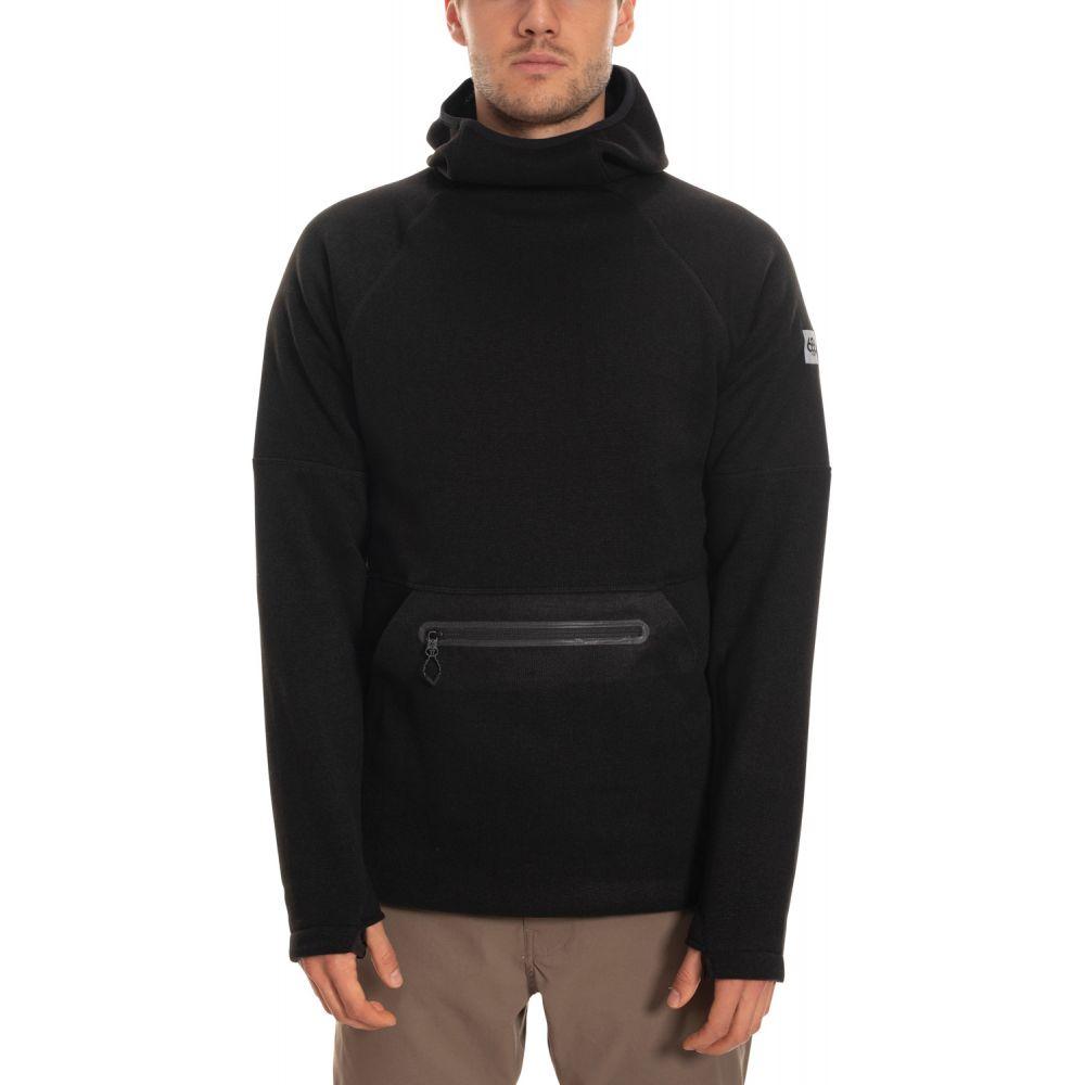 シックス エイト シックス 686 メンズ スキー・スノーボード パーカー トップス【Knit Tech Hoodie】Black Heather