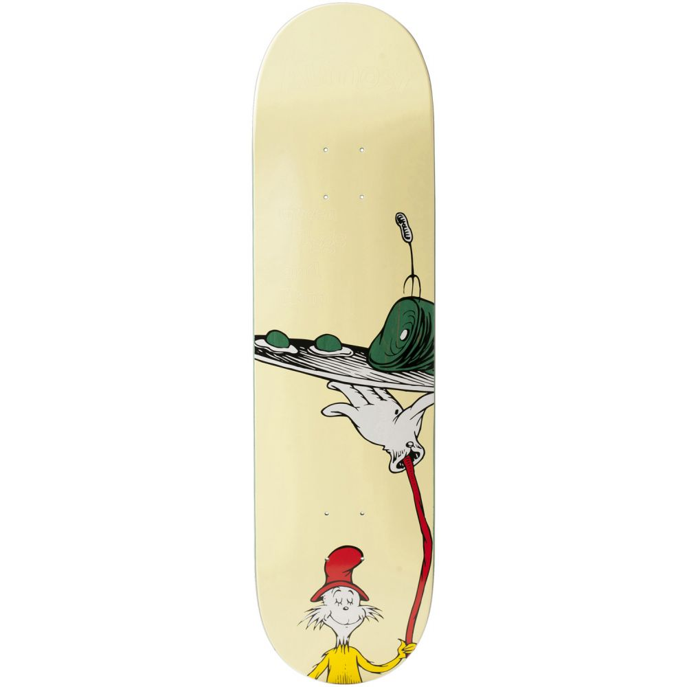 オルモスト Almost メンズ スケートボード ボード・板【x Dr. Seuss Mullen Cat Car Skateboard Deck】Rodney Mullen