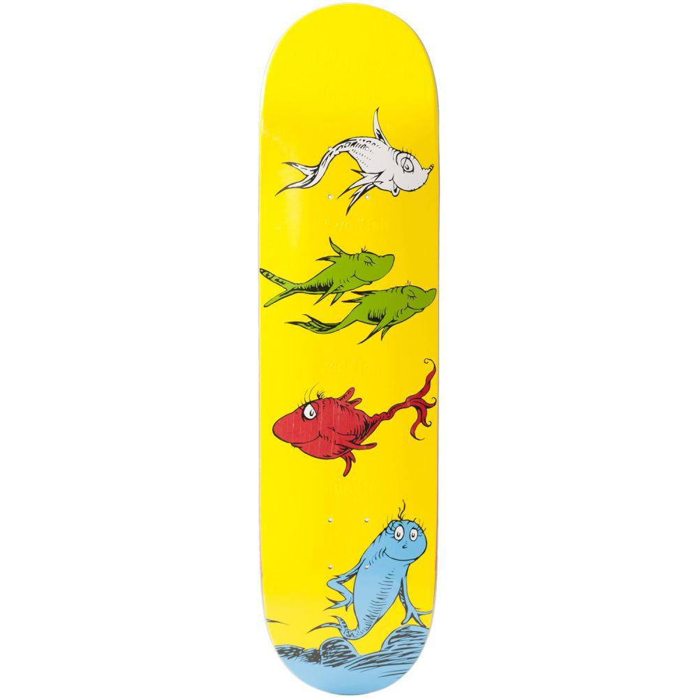 オルモスト Almost メンズ スケートボード ボード・板【x Dr. Seuss Yuri Cat-N-Fish Skateboard Deck】Yuri Facchini