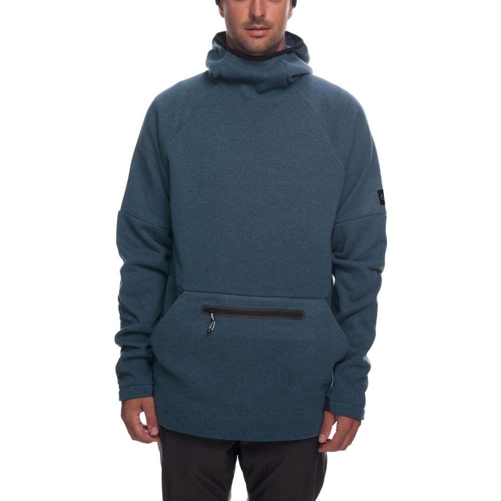 シックス エイト シックス 686 メンズ スキー・スノーボード パーカー トップス【Knit Tech Fleece Hoodie】Bluesteel Melange
