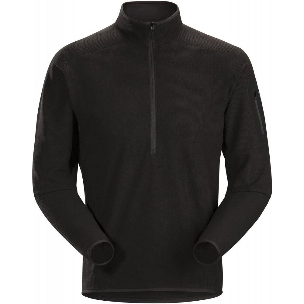 アークテリクス Arc'teryx メンズ フリース トップス【Delta LT Zip Neck Fleece】Black