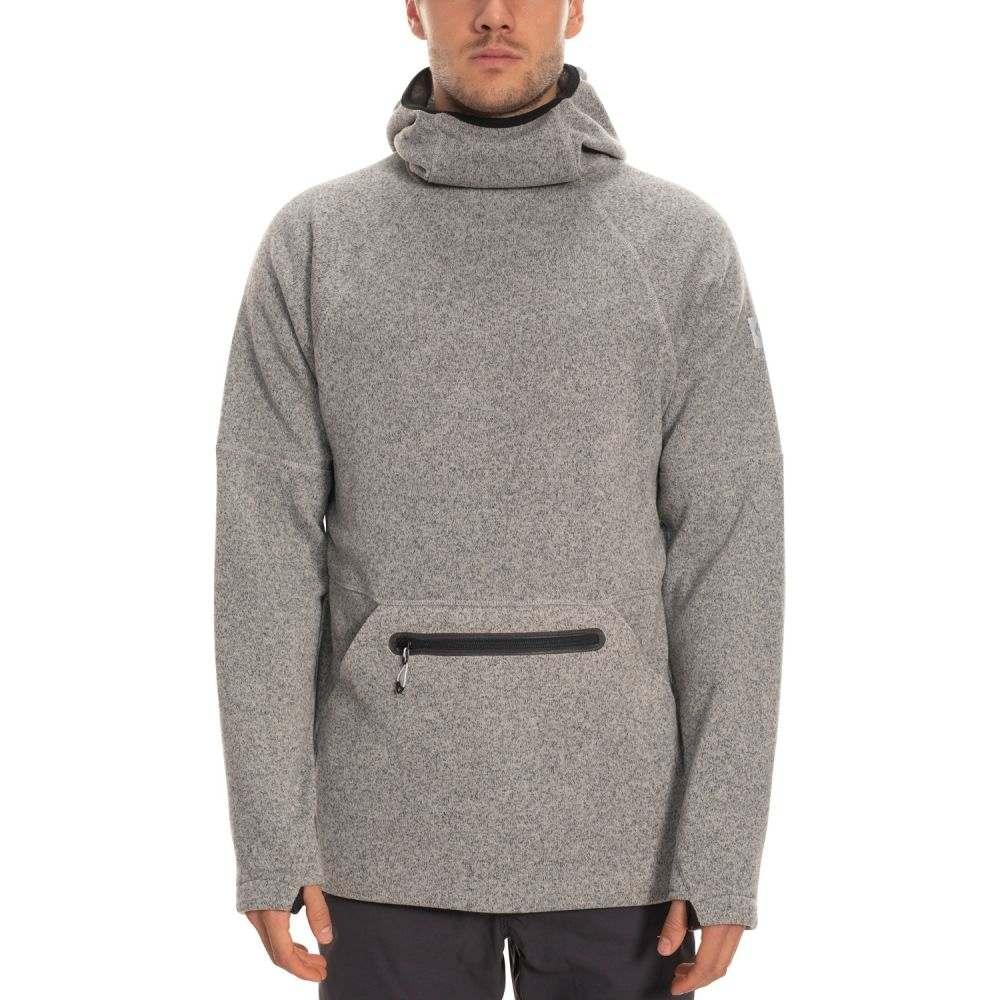 シックス エイト シックス 686 メンズ スキー・スノーボード パーカー トップス【Knit Tech Hoodie】Light Grey Heather