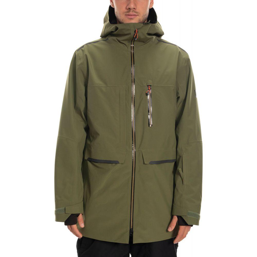 シックス エイト シックス 686 メンズ スキー・スノーボード ジャケット アウター【Eclipse Snowboard Jacket 2020】Surplus Green