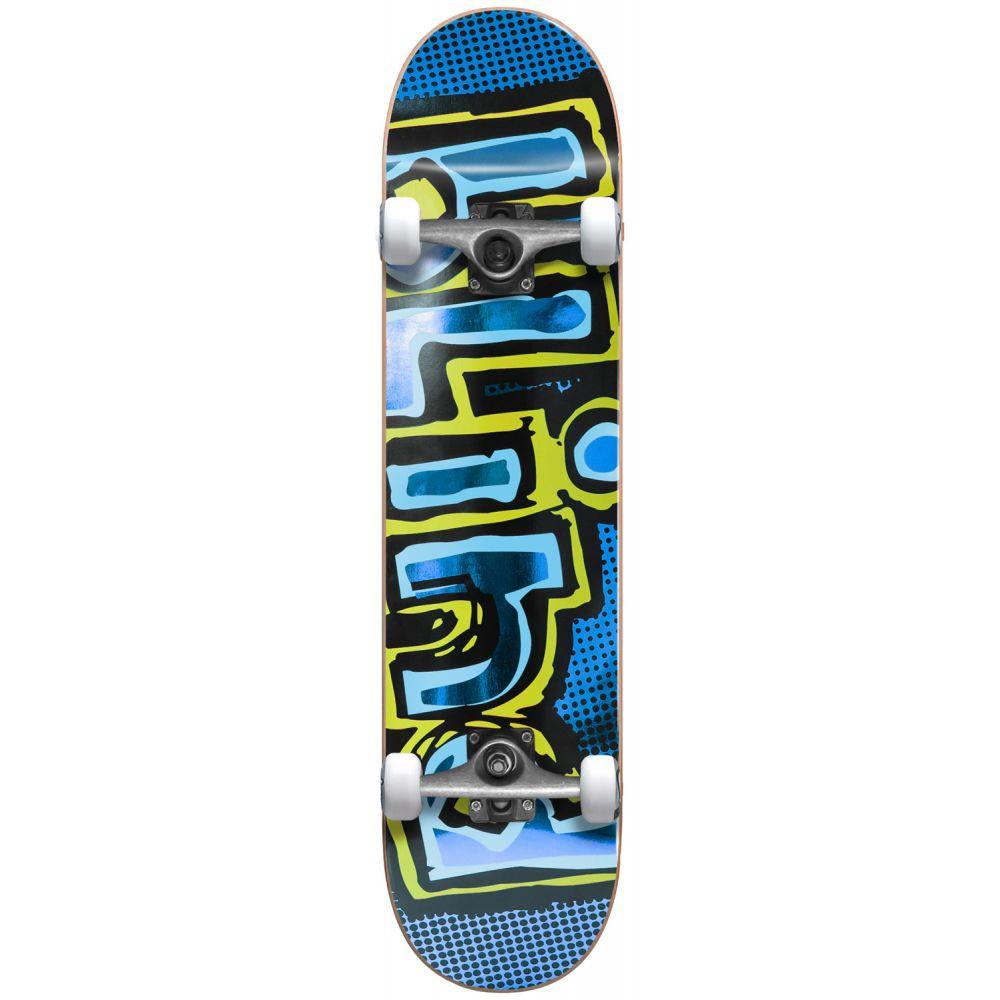 ブラインド Blind メンズ スケートボード ボード・板【OG Foil Premium Skateboard Complete】Blue