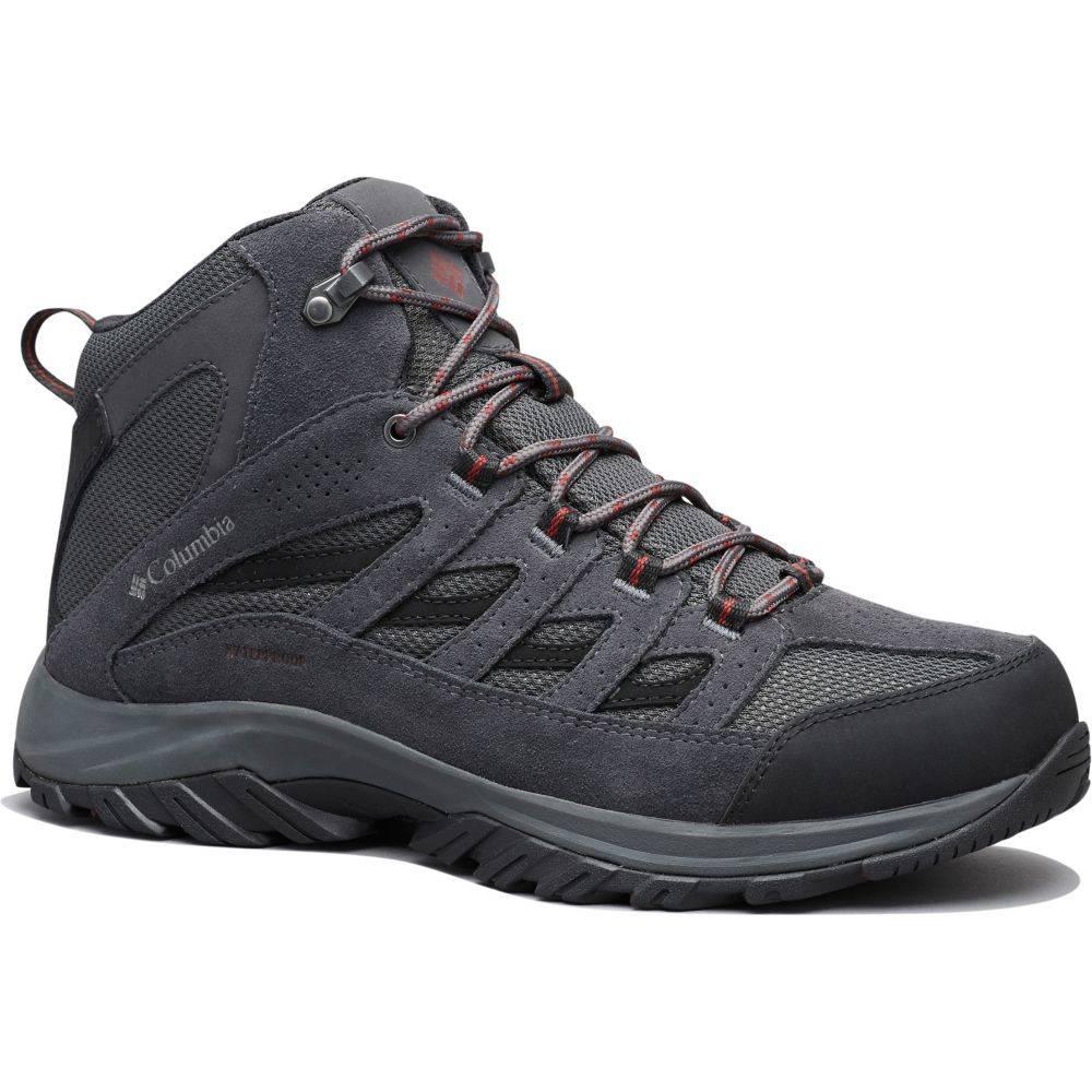 コロンビア Columbia メンズ ブーツ シューズ・靴【Crestwood Mid Waterproof Boots】Dark Grey/Deep Rust