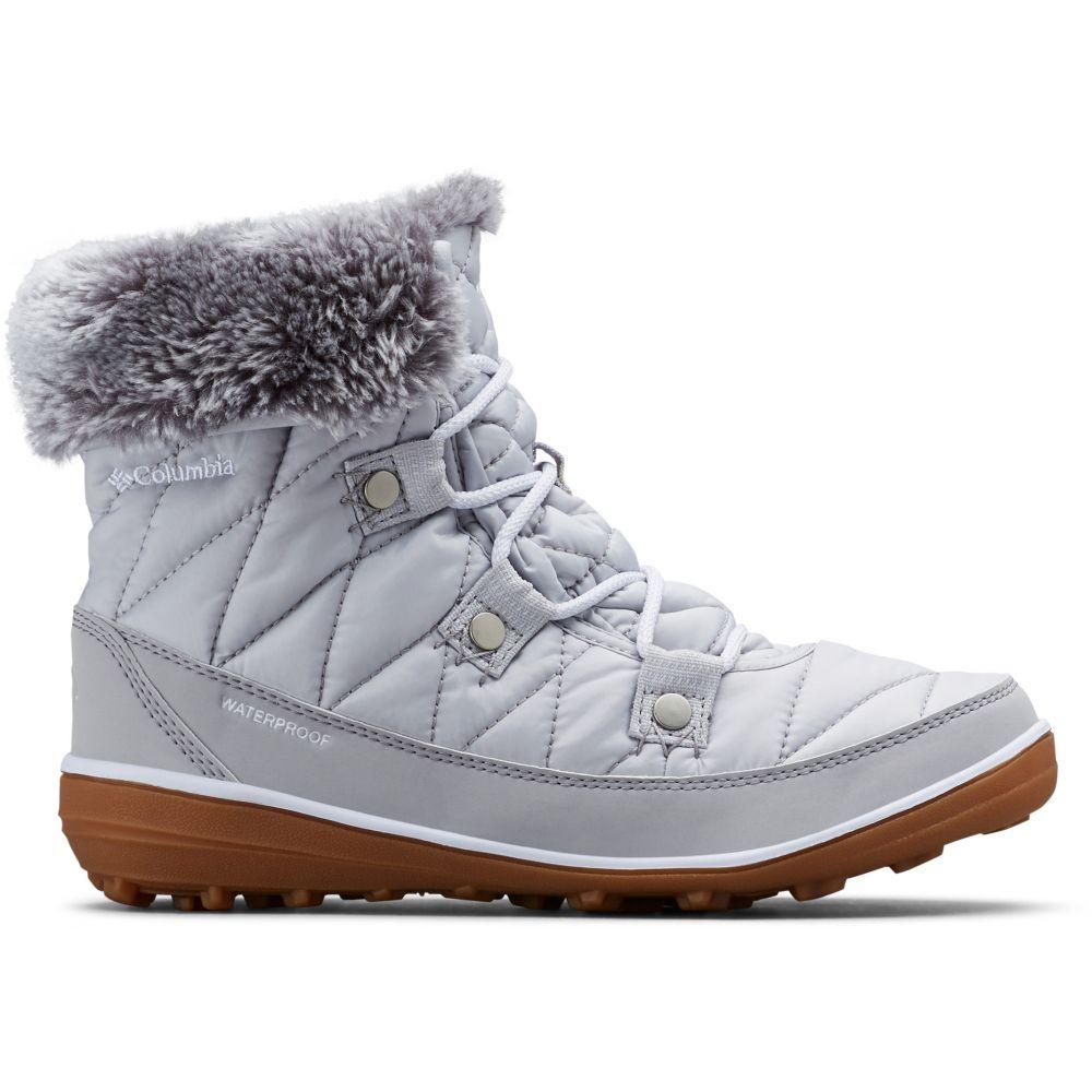 コロンビア Columbia レディース ブーツ シューズ・靴【Heavenly Shorty Omni-Heat Boots】Grey Ice/White