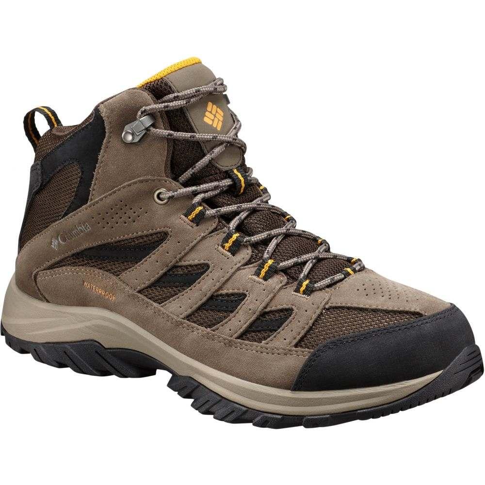 コロンビア Columbia メンズ ブーツ シューズ・靴【Crestwood Mid Waterproof Boots】Cordovan/Squash