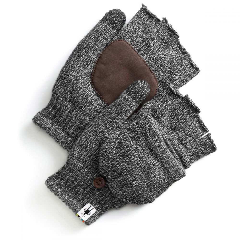 スマートウール Smartwool メンズ スキー・スノーボード ミトン グローブ【Cozy Grip Flip Mittens】Black