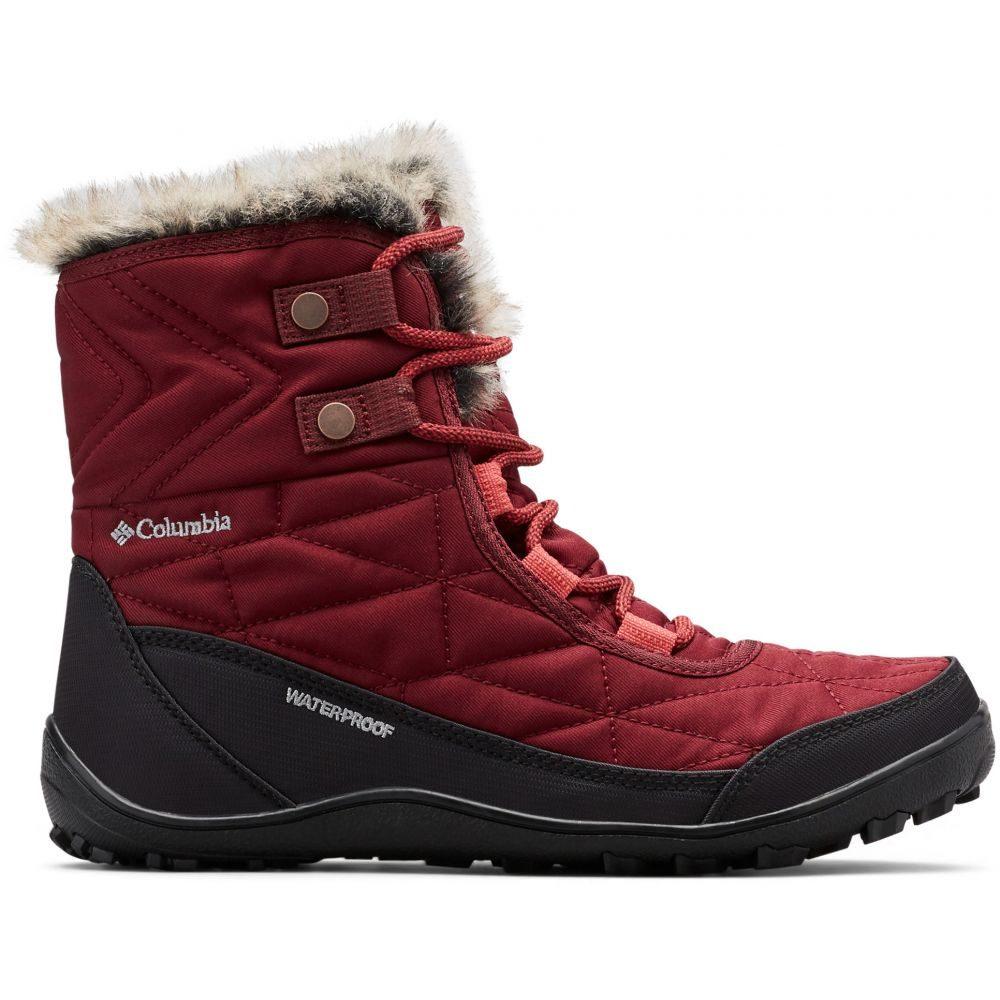 コロンビア Columbia レディース ブーツ シューズ・靴【Minx Shorty III Boots】Rich Wine/Daredevil