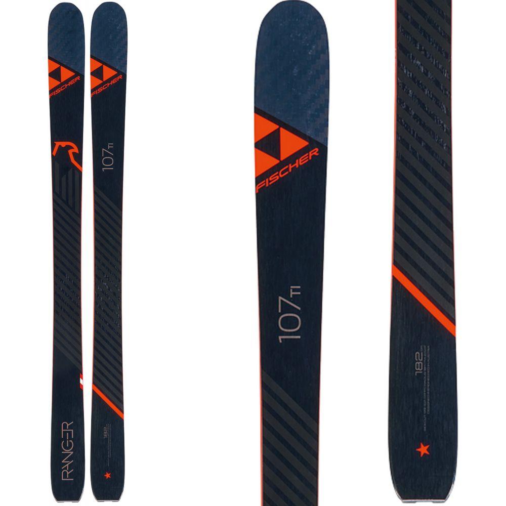 フィッシャー Fischer メンズ スキー・スノーボード ボード・板【Ranger 107 Ti Skis 2020】