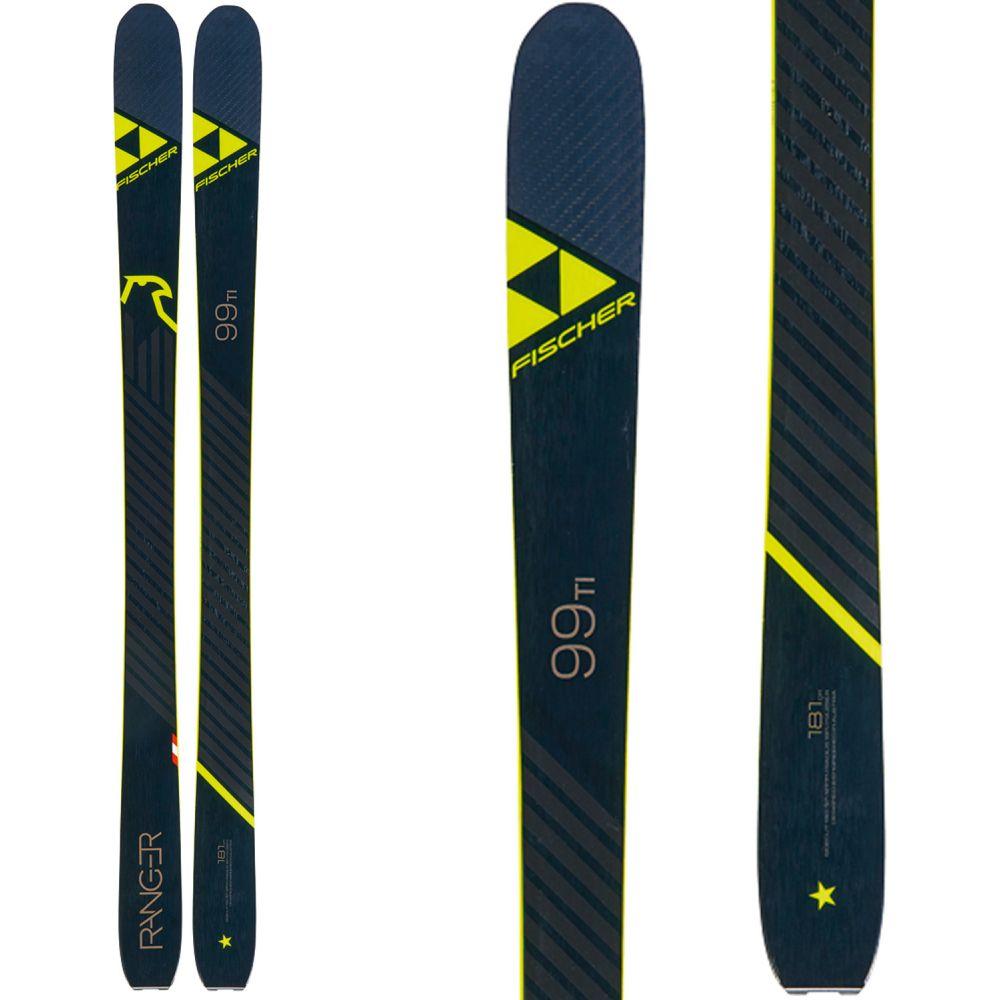 フィッシャー Fischer メンズ スキー・スノーボード ボード・板【Ranger 99 Ti Skis 2020】